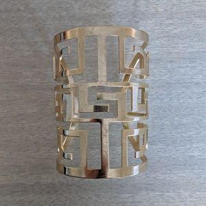 Geometric Gold Bracelet